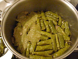 Grape leaves Sarma III.JPG
