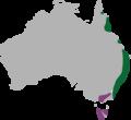 Graphium macleayanus range.png