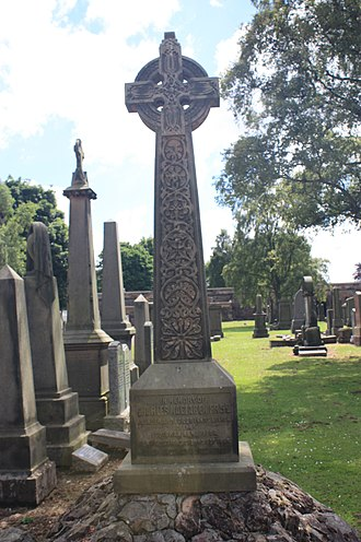 Charles Maclaren - grave of Charles MacLaren, Grange Cemetery