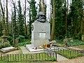 Grave of Karl Marx Highgate Cemetery in London 2016 (12).jpg