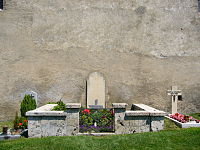 Grave of Rainer Maria Rilke at the churchyard in Raron - Swizerland.jpg