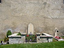 Grave of Rainer Maria Rilke at the churchyard in Raron - Swizerland.jpg