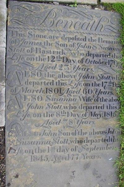 File:Grave stone in Rastrick Churchyard - geograph.org.uk - 489285.jpg