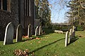 Gravestones in St Peter's churchyard - geograph.org.uk - 1067207.jpg