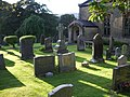 Graveyard, The Parish Church of St Michael, Whitewell - geograph.org.uk - 540935.jpg