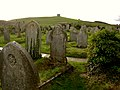Graveyard of the Parish Church of St. Nicholas, Abbotsbury - geograph.org.uk - 25111.jpg
