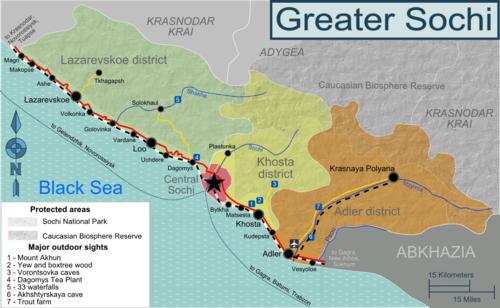 Sochi Russia Cartina.Soci Wikivoyage Guida Turistica Di Viaggio