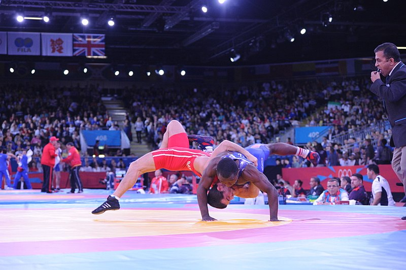 File:Greco-Roman wrestling competition of the London 2012 Games 5.jpg