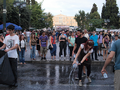 Greek indignants cleaning streets, day 22.png
