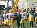 Green Bay Packers wide receivers and tight ends at 2014 training camp.jpg