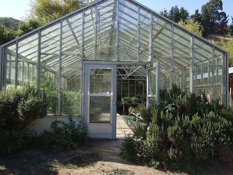 Green Gulch Farm Greenhouse
