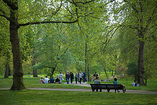 Green Park one of the Royal Parks of London