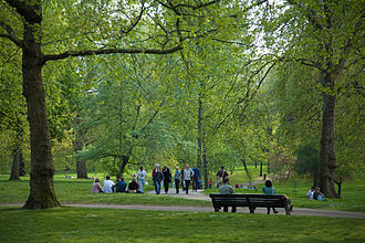 Green Park - Image: Green Park, London April 2007