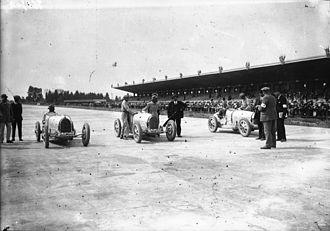 1926 French Grand Prix - Starting grid