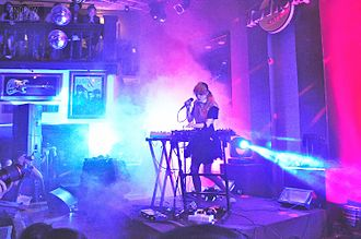 Grimes (musician) - Grimes performing in 2013.