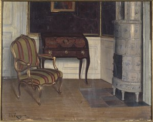 Gripsholms slott, prinsessans kabinett