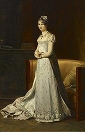 Stéphanie de Beauharnais (Gemälde von François Gérard, Paris 1806/1807) (Quelle: Wikimedia)