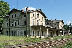 Großpostwitz - Former train station