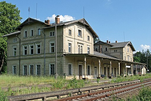 Großpostwitz Bahnhof 2006