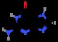Guanine (structural formula).png
