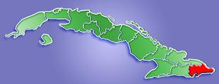 Провинция Гуантанамо на карте