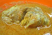 Gulai Otak Cattles Brain Curry From Indonesia