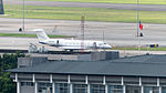 Gulfstream G650 N650GA at Taipei Songshan Airport 20150629.jpg