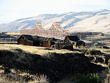 Gulick Homestead and The Dalles Bridge - The Dalles Oregon.jpg