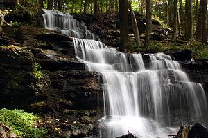 Mount Toby - Gunn Brook Falls Sunderland, MA