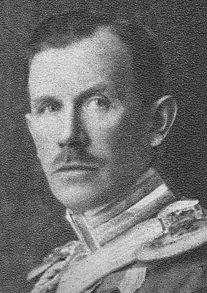 Gustaf Lewenhaupt - Count Gustaf Lewenhaupt in 1942