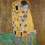 Gustav Klimt - Der Kuss (Liebespaar) - 912 - Österreichische Galerie Belvedere.jpg