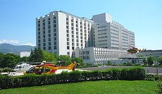 Centre Hospitalier Universitaire Grenoble Alpes Hospital in Grenoble, France