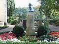 Höxter, Corvey, Friedhof, Grab Hoffmann von Fallersleben.jpg