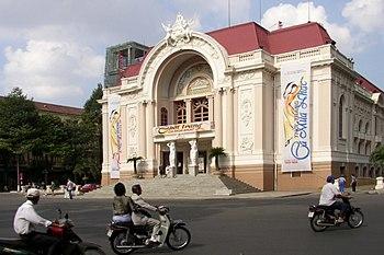 Imagen del teatro de la ópera