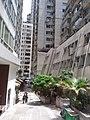 HK Bus 101 view 西環 Sai Wan 皇后大道西 Queen's Road West August 2018 SSG 02 U Lam Street.jpg