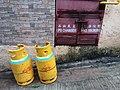 HK SYP 西營盤 Sai Ying Pun 修打蘭街 Sutherland Street household gases August 2019 SSG 03.jpg