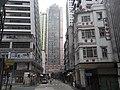 HK Sheung Wan Queen's Road West facade 有記合 Yau Kee Hop view 帝后華庭 Queen's Terrace.jpg