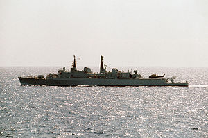 Operation Paraquet - HMS Antrim