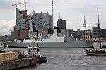 HMS Defender (D36) hamburg elbphilharmonie.jpg