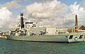 HMS Richmond (F239) Type 23 Frigate 4,900 tonnes, Royal Navy. (11632679704).jpg