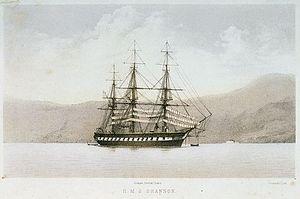 HMS Shannon (1855) - HMS Shannon