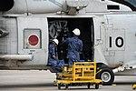 HQS-104 dipping sonar mounted on SH-60K(8410) at JMSDF Maizuru Air Station May 18, 2019 03.jpg