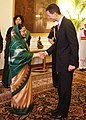 HSHH Prince Alois of Liechtenstein called on the President, Smt. Pratibha Devisingh Patil, at Rashtrapati Bhavan, in New Delhi on November 15, 2010.jpg