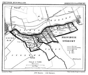Haastrecht - Image: Haastrecht 1868