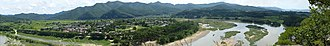 Hahoe Folk Village - Image: Hahoe Folk Village Panorama