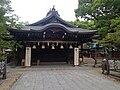 Haiden of Umi Hachiman Shrine.JPG