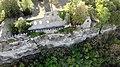 Hall Ruins, Karlsburg at River Main, Germany, Air View, Front.jpg