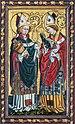 Hallstatt kath. Kirche Knappenaltar Rupert und Bischof 01.jpg