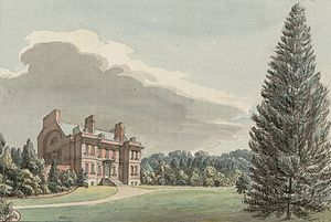 William Emes - Grounds of Halston Hall, Whittington, c.1778
