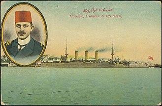 Rauf Orbay - Image: Hamidié, Croiseur de 1ère classe